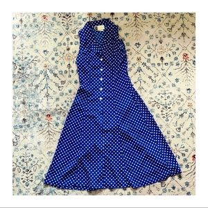Vintage 50s Jamdabax Sleeveless Maxi Dress